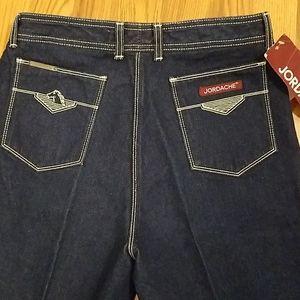 Vintage Rare Jordache Jeans New Dark Wash